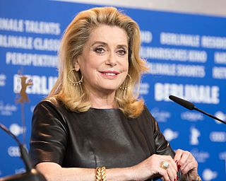 Catherine Deneuve French actress
