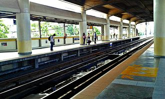 Kamuning MRT station - GMA Kamuning
