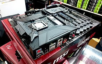 Micro-Star International - Image: MSI Z270 GAMING MB