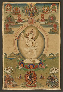 Machig Labdron, the Tibetan Yogini - Google Art Project.jpg