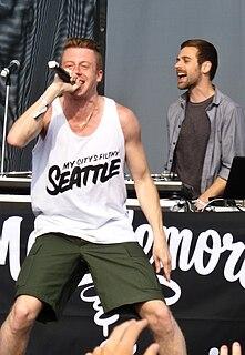 Macklemore & Ryan Lewis American hip hop duo