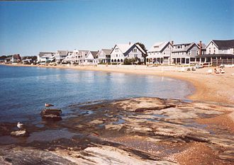 Madison, Connecticut - Beach on Long Island Sound in Madison