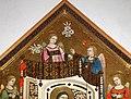 Maestro di Figline, maestà tra i ss. elisabetta d'ungheria, ludovico di tolosa e angeli, post 1317, 04.jpg