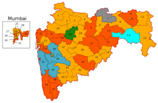 2019 Indian general election in Maharashtra