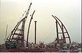 Main Auditorium Under Construction - Convention Centre Complex - Science City - Calcutta 1994-11-03 474.JPG