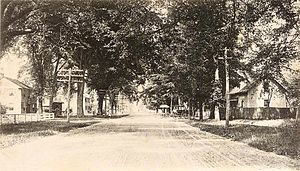 Boscawen, New Hampshire - Image: Main Street Looking North, Boscawen, NH