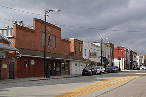 Fayette, Ohio - Main Street downtown