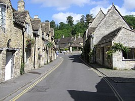 Straat in Castle Combe