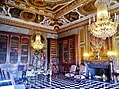 Maincy Château de Vaux-le-Vicomte Innen Bibliothéque 2.jpg