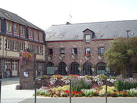The town hall of Montfort-sur-Meu
