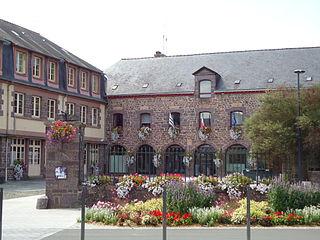 Montfort-sur-Meu Commune in Brittany, France