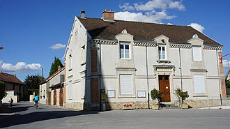 Aigny - The town hall in Aigny