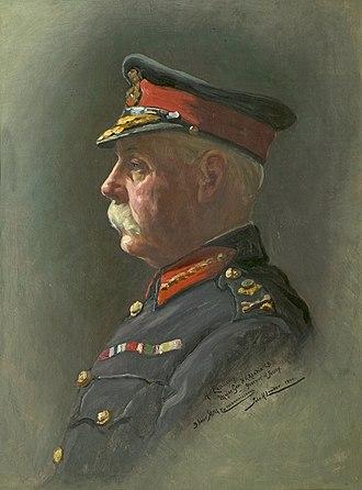 Henry Richard Abadie - A portrait of H. R. Abadie, by John St Helier Lander, 1904