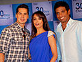 Malaika makes Dino and Ritwik shave at 'Gillete 30 Day Challenge' event.jpg