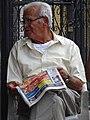 Man Reading Newspaper - Granada - Nicaragua (31797765272) (2).jpg