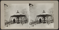 Man standing at Summer House in snow storm, from Robert N. Dennis collection of stereoscopic views.png