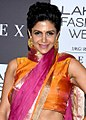 Mandira Bedi on Day 3 of Lakme Fashion Week 2017.jpg