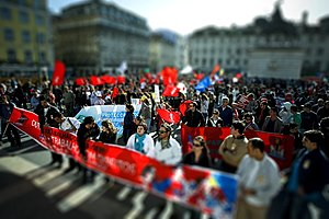 Manifestação CGTP em Lisboa, 28 Março 2009.