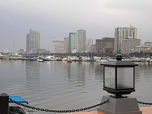 Manila by the bay