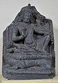 Manjusri - Basalt - Pala Period Circa 9th-10th Century AD - Nalanda - Archaeological Museum - Nalanda - Bihar - Indian Buddhist Art - Exhibition - Indian Museum - Kolkata 2012-12-21 2304.JPG