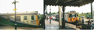 British Rail Class 312 - A First Great Eastern Class 312 at Manningtree station in 2001