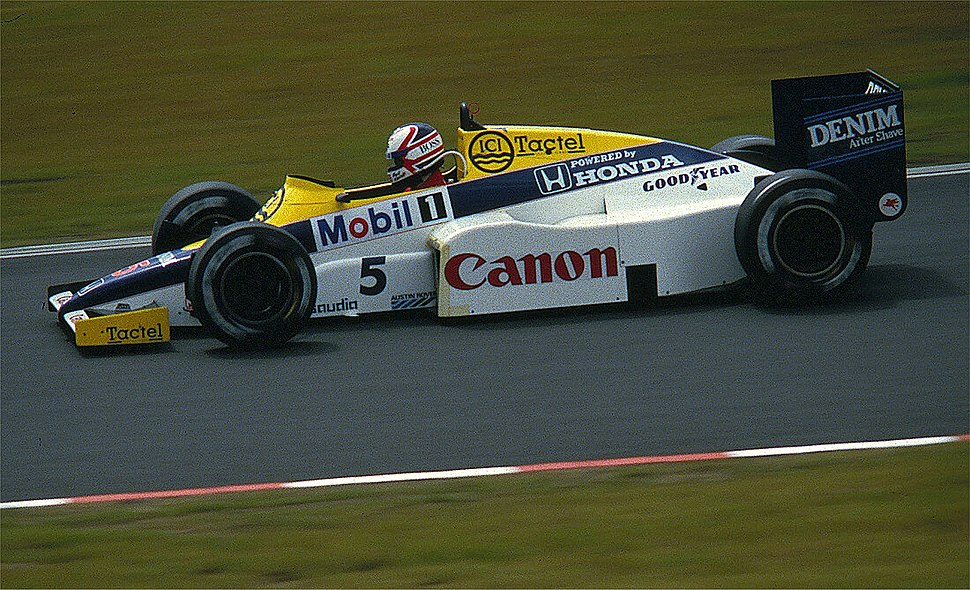 Mansell - Williams 1985