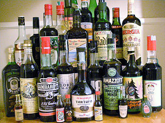 Amaro (liqueur) - Many bottles of amaro.