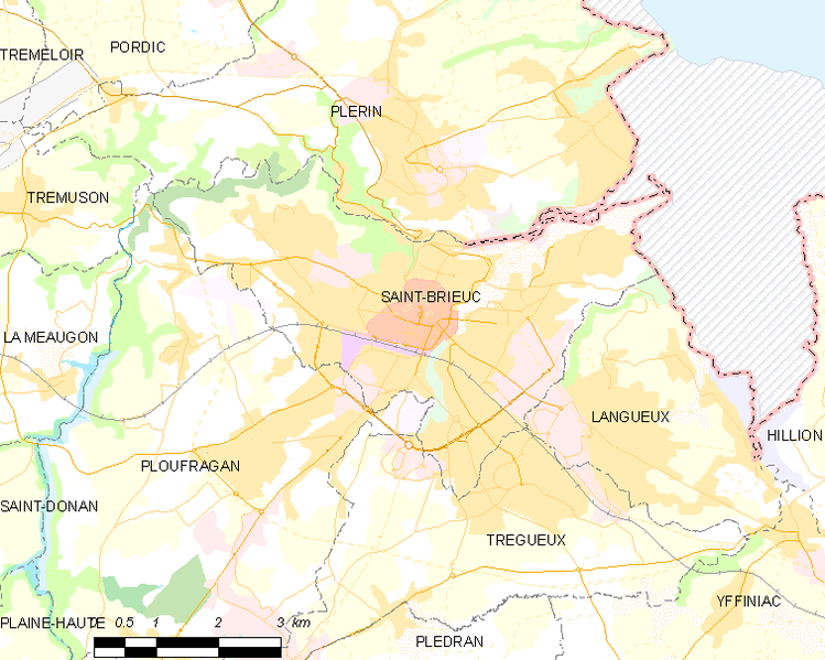 Súbor:Map commune FR insee code 22278.png