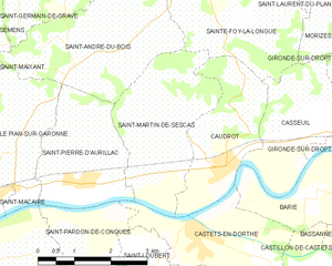 Map commune FR insee code 33444.png