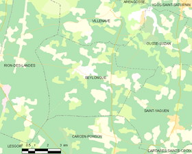 Map commune FR insee code 40040.png