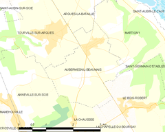 Map commune FR insee code 76030.png