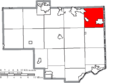 Map of Columbiana County Ohio Highlighting Unity Township.png