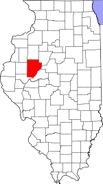 Map of Illinois highlighting Fulton County.svg