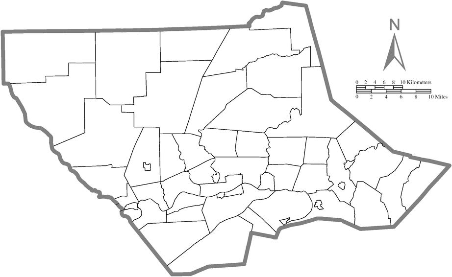 Map of Lycoming County, Pennsylvania All Blank.PNG