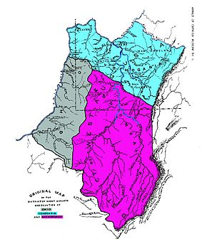 Map Of Virginia Counties 1800.Yohogania County Virginia Wikipedia