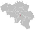 Map of namur in belgium.PNG
