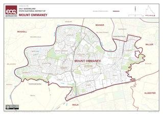 Electoral district of Mount Ommaney state electoral district of Queensland, Australia