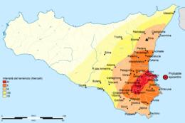 Cartina Sismica Italia Wikipedia.Terremoto Del Val Di Noto Del 1693 Wikipedia