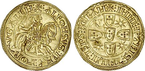 Morabitino - portugiesische Goldmünze