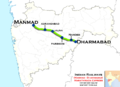 Marathwada Express (Manmad - Dharmabad) route map.png