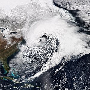Nor'easter - A powerful nor'easter in March 2014