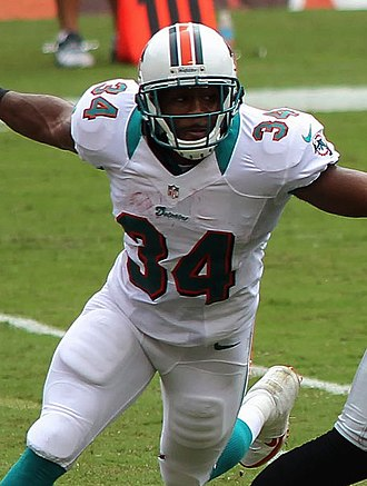 Marcus Thigpen - Thigpen with the Dolphins in 2012