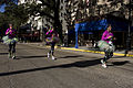 Mardi Gras Half Marathon Passing the Pontchartrain in Purple.jpg
