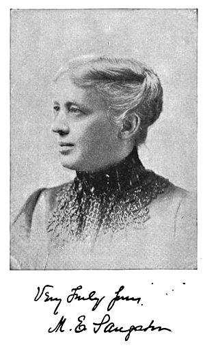 Margaret Elizabeth Sangster - Margaret Elizabeth Sangster, c. 1889