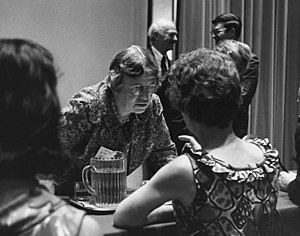 Margaret Mead - Mead at New York Academy of Sciences, 1968