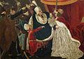 Maria Theresia mit ungarischen Magnaten Historiengemälde.jpg