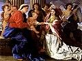 Mariage mystique de sainte Catherine - Poussin - NGofScotland.jpg