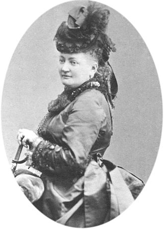 François Blanc - Blanc's second wife, Marie Charlotte Hensel.