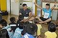 Marines teach English to Okinawa students through song, play during new program 140919-M-PJ295-003.jpg