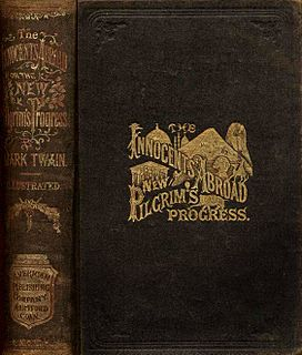 <i>The Innocents Abroad</i> book by Mark Twain